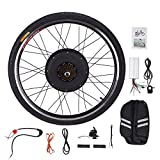 Pinty RR1010 26' Rear Wheel 48V 1000W Ebike Hub Motor Conversion Kit with Dual Mode Controller & Disc Brake for Electric Bicycle Bike, Up to 28-30 MPH