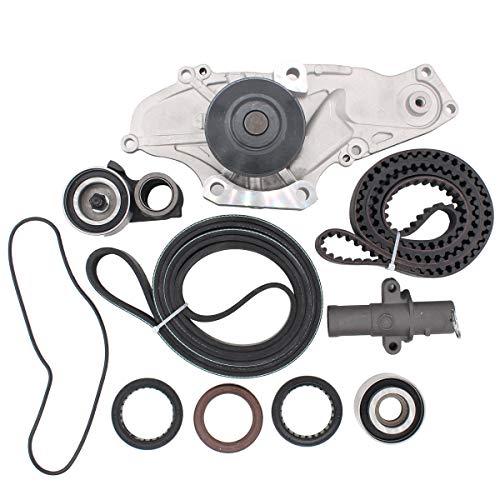 NewYall Engine Timing Belt Kit w/Water Pump