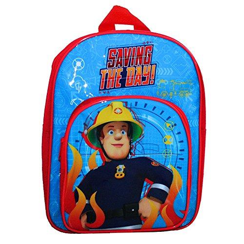 Sam il Pompiere Zaino Bambini 31 x 24 x 11 cm | Saving The Day