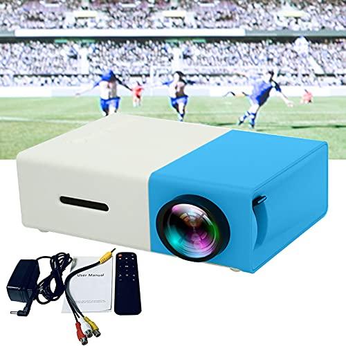 Proyector, resolución nativa de 1920 x 1080p y pantalla de 20 x 80 pulgadas, compatible con ordenadores, discos U, estéreos, consolas de juegos, DVD, etc.