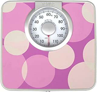 Bathroom Scale Mechanical Scales, Precision, Analog Large Dials, Non-Slip Surface, 120kg / 264 Lb Capacity