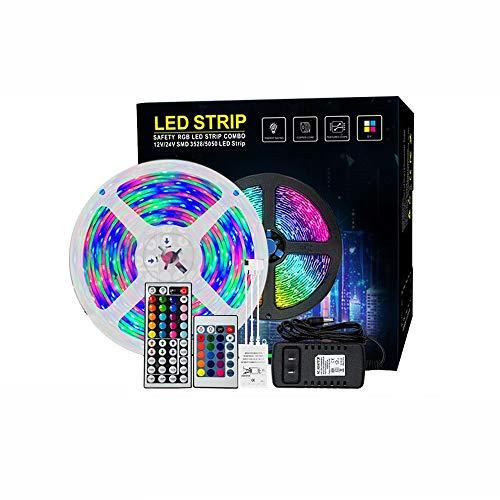 Led2835Rgb Lámpara Con Bajo Voltaje 12V Colorido Carrera De Caballos Ambiente Bar De Luz Epoxi Impermeable 5 Metros Caja De Color Set Navidad