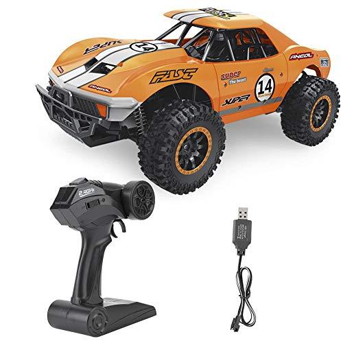 Cocosity RC Car Anti-Rutsch-Reifen Fernbedienung Auto Grundwerkzeug für Outdoor-RC Car(Orange)
