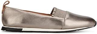 Gentle Souls Womens Luca-Ruffle Slip on Sneaker