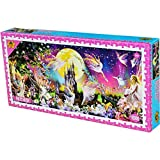 Uioy-Puzzle 1000 Puzzleteile - Spiele for Erwachsene, Puzzle-Panorama Intelligenz-Puzzle (Farbe : D) -