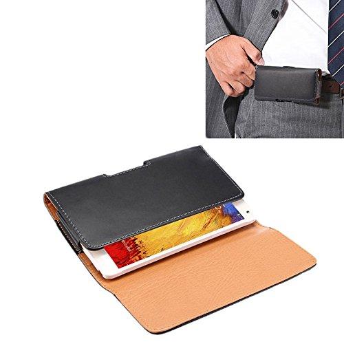 YUNCHAO Funda Protectora Textura de Loco Caballo Vertical Flip Funda de Cuero/Bolso de Cintura con tablilla Trasera for Samsung Note 3 / N900 Caja del teléfono Celular