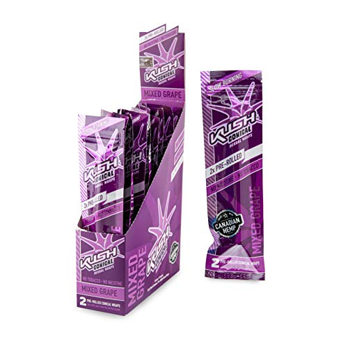 Kush hanf-Wraps - pre Rolled Cone Wraps...