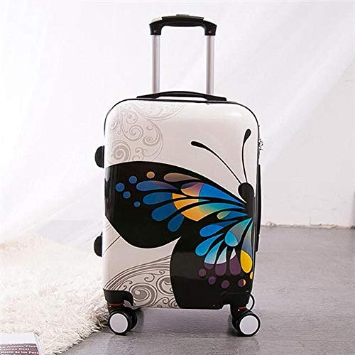 SFBBBO luggage suitcase Rolling Luggage Set Wheel Women Travel suitcase Spinner High Cabin Trolley Bag 24inch