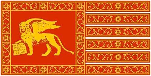 U24 Fahne Flagge Venedig Yachtflagge 90 x 150 cm