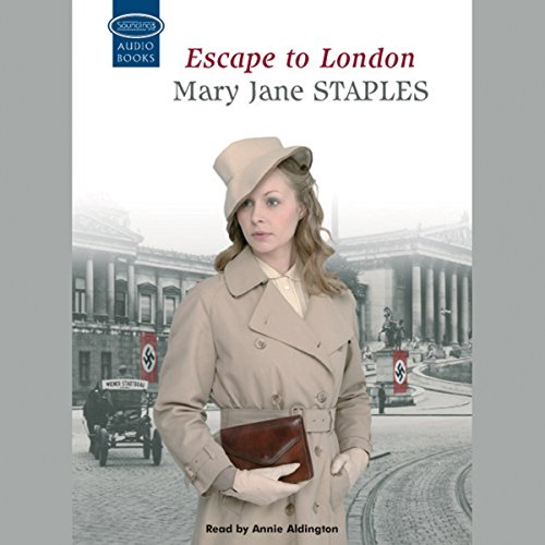 Escape to London audiobook cover art