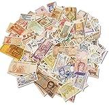 IMPACTO COLECCIONABLES Colección de Billetes Mundiales - 1 Libra (0,5 kg) de Billetes - Más de 500 Billetes - Extranjero, Moneda, Sin Circulación