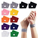 12 Pairs Travel Sickness Bands Children, Jane Choi Motion Sickness Relief Wristbands for Children Kids Adult Pregnancy, Morning Sickness Relief Bracelets for Sea Car Airplanes