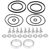 O-Ring-Dichtungen Kits Ringe, Twin Double Dual-Seals & Rattle Ring Reparatur/Upgrade-Kit für Vanos M52TU M54 M56 11361440142