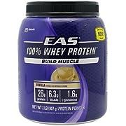 EAS 100 Percent Whey Protein Vanilla (2 lb) ( Multi-Pack)