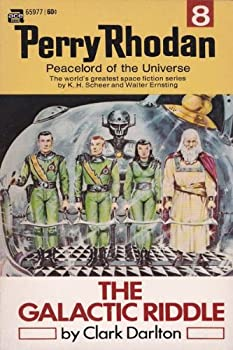 Mass Market Paperback The Galactic Riddle (Perry Rhodan) Book