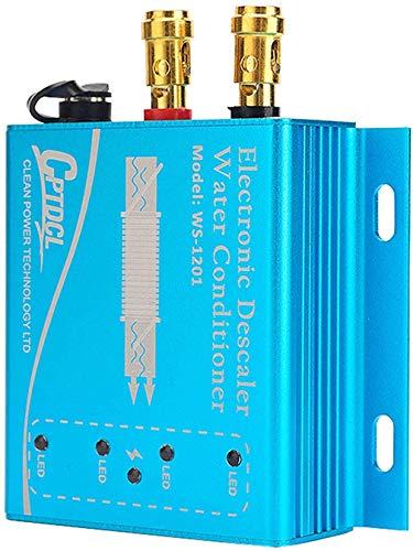 Descalcificador electrónico de agua acondicionadora de agua dura para tubería de cobre PVC (9V)