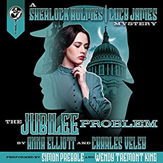 The Jubilee Problem: A Sherlock Holmes and Lucy James Mystery audiobook cover art