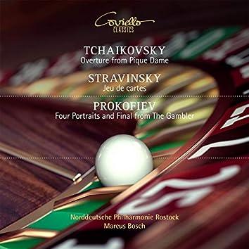 Works by Tchaikovsky, Stravinsky, Prokofiev