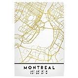 artboxONE Poster 30x20 cm Städte Montreal Canada Street