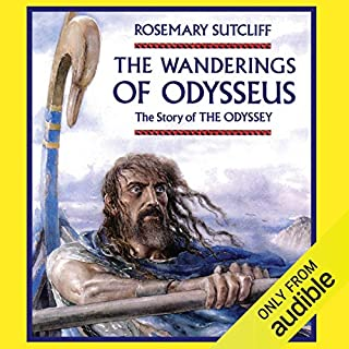 The Wanderings of Odysseus audiobook cover art