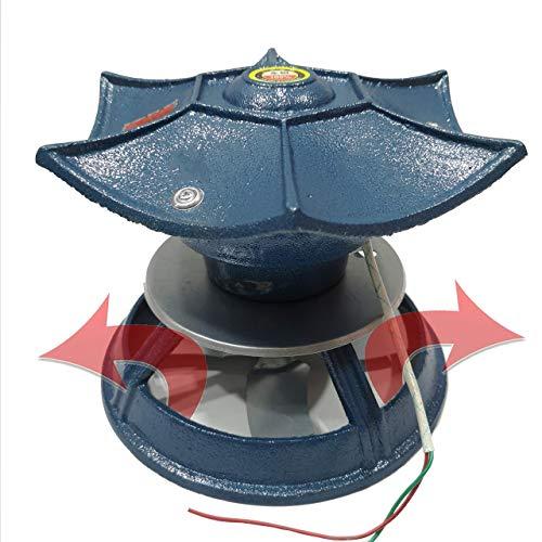 Dachschornstein-Rauchabzug, 100 Watt Kamin-Rauchabzug, Roheisenmaterial ist Nicht leicht zu rosten Kamin-Schornsteinlüfter, Schornstein-Rauchabzug, Schornstein-Abluftventilator