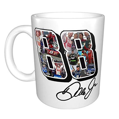 Tazas Dale Earnhardt Jr Tribute Design - #Thankyoudale (Assorted Products) Taza de Café de Cerámica Personalizada Taza de té El Mejor Regalo Para la Oficina en Casa 11.6oz (330ml)
