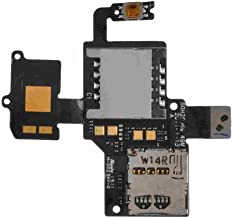 SIM Card & SD Card Reader with Flex Cable for HTC myTouch 4G Slide