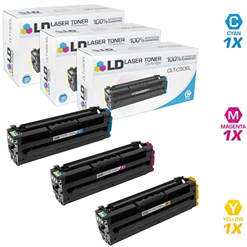 LD Compatible Toner Cartridge Replacement for Samsung CLP 680 CLX 6260 High Yield Cyan Magenta product image
