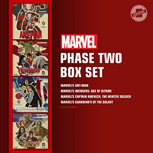 Marvel's Phase Two Box Set audiobook cover art