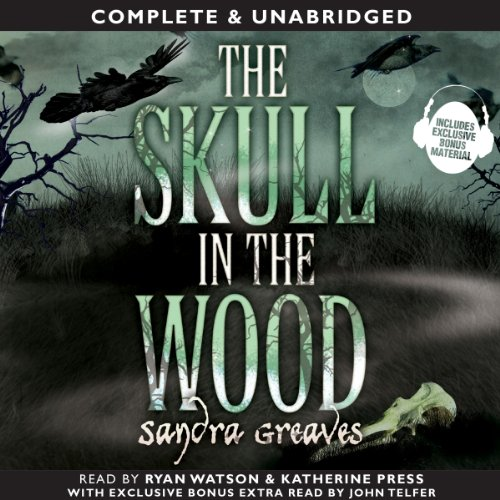 The Skull in the Wood audiobook cover art