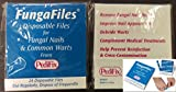 PEDIFIX FungaFiles Fungal Nail & Wart Files Disposable Emery Boards 24-Matchbook