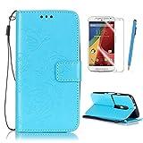 Motorola Moto G 3rd Generation (G3) Case Cover, Blue