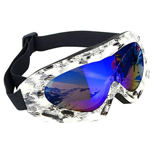 OhhGo Occhiali da Sci Protezione UV Professionale Occhiali da Neve antiappannamento Sport Occhiali da Sci per Uomo Donna Bambini