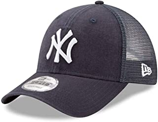 New Era New York Yankees 9Forty Adjustable Cap Hat Black 11591198