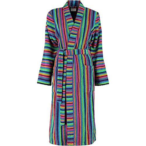 Cawö Home Bademantel Damen Kimono 7048 Multicolor - 84 XS