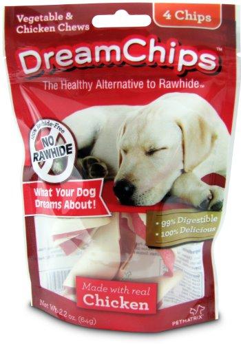 Dreamchips Chicken Dog Chew, 4 Pieces/Pack