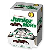 Tootsie Roll Junior Mints, Creamy Mints in Pure Chocolate, Mini-Boxes, 72-Count, Multicolor