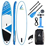 AKD Germany Stand Up Paddling Board Inflatable Sup, High Pressure Pump with Pressure
