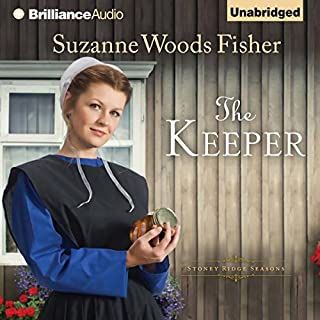 The Keeper     A Novel              By:                                                                                                                                 Suzanne Woods Fisher                               Narrated by:                                                                                                                                 Amy Rubinate                      Length: 9 hrs and 4 mins     4 ratings     Overall 4.0