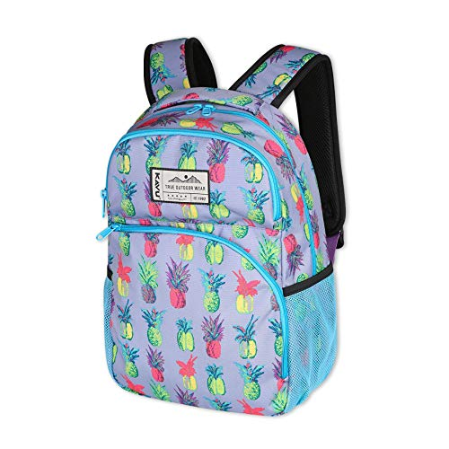 KAVU Packwood Backpack with Padded Laptop and Tablet Sleeve-Pineapple Pop