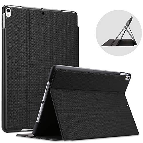 """ProCase Buchdeckel Hülle für iPad Air (3rd Gen) 10.5 Zoll 2019 / iPad Pro 10.5\"""", Klapp Leicht Schutzhülle Urban Folio Case Smart Cover -Schwarz"""