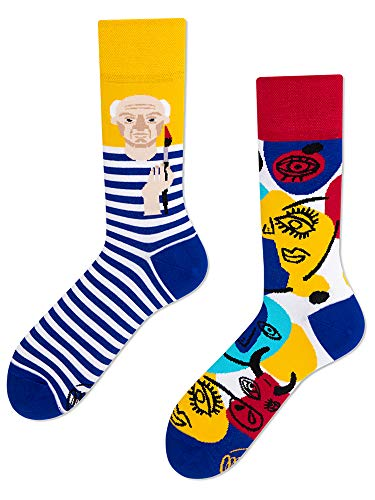 Many Mornings unisex Socken Picassosocks (Mehrfarbig, 39-42)