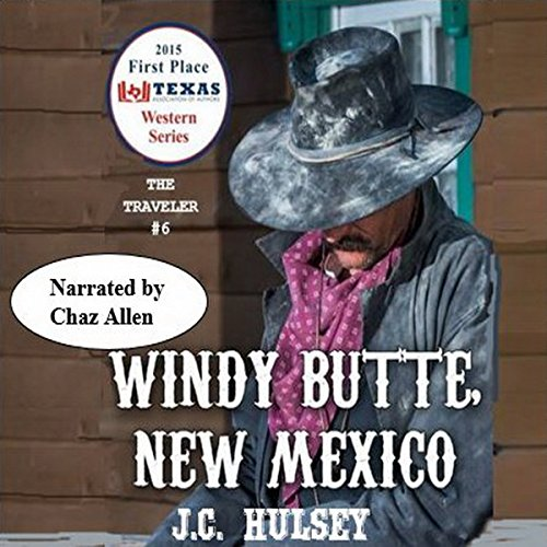 Windy Butte, New Mexico audiobook cover art