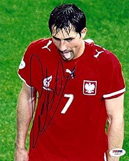 Signed Radoslaw Sobolewski Photograph - 8x10 Wisla Krakow #U58407 - PSA/DNA Certified - Autographed Soccer Photos