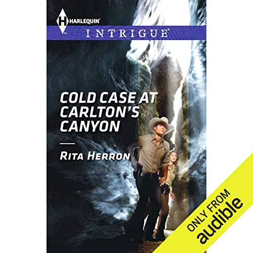 Cold Case at Carlton's Canyon audiobook cover art