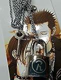 Davitu Anime Cosplay Costume Necklace hot Sales Ai Yazawa Nana Lover's Necklace Metal Fashion Key&Lock 2pcs/Set Alloy Necklace