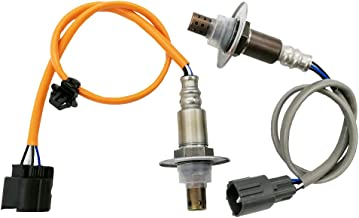 Amrxuts 2Pcs Upstream Downstream O2 Oxygen Sensor for Subaru 2006-2011 Impreza 2006-2009 Legacy 2006-2010 Forester 2006-2009 Outback 2006 Saab 9-2X 2.5L-H4 234-9123 234-4445