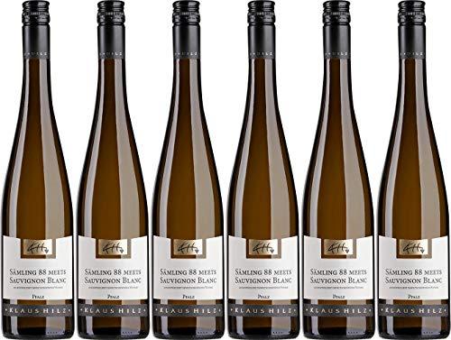 Hilz Cuvée Weiß SÄMLING 88 MEETS SAUVIGNON BLANC 2019 Trocken (6 x 0.75 l)