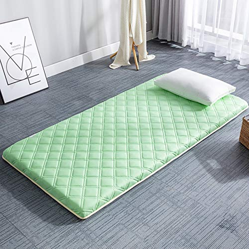 GGYDD Japanese Sleeping Tatami Floor Mat,Soft Breathable Mattress Pad,Foldable Sustainable Mattress Topper For Student Dormitory