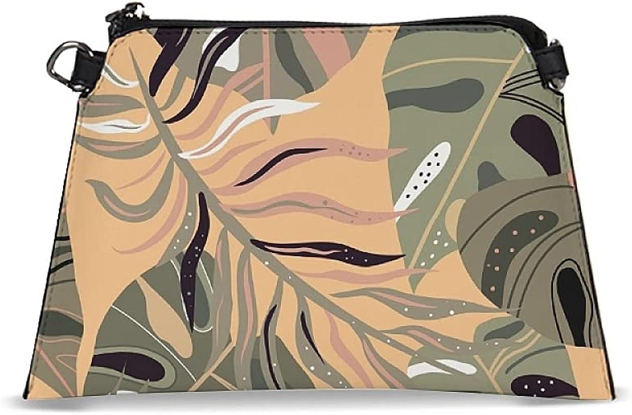 Plants Wallet Women Wristlet Colorful Flower Fashion Handbags Newest Design Floral Crossbody Bag for Women